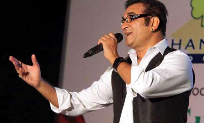 singers are born as singers abhijeet bhattacharya