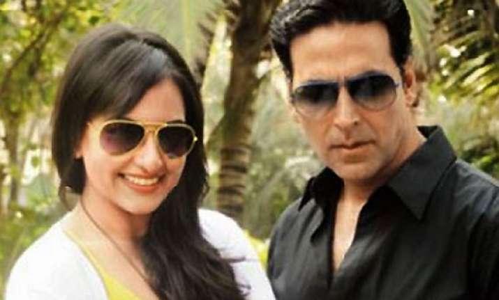 sonakshi akshay b town s punctual on screen couple
