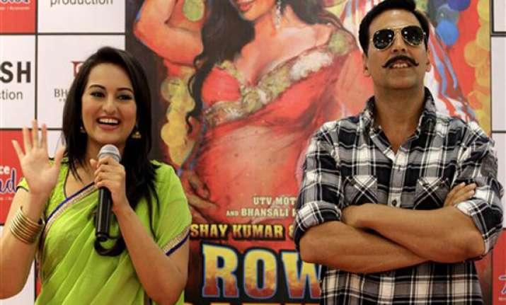 sonakshi akshay again in rowdy rathore sequel