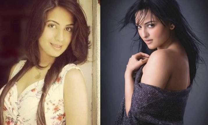 sonakshi sinha s cousin sister all set to make bollywood