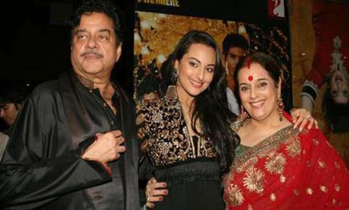sonakshi sinha always asks her parents advice