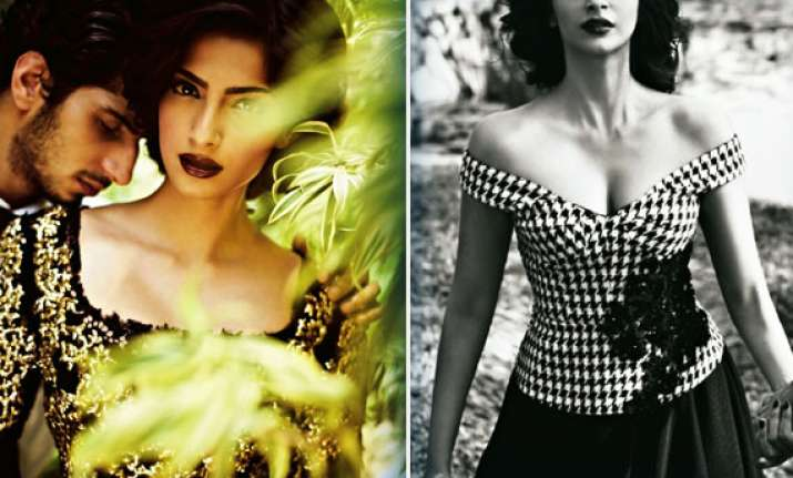 sonam kapoor hots up filmfare cover for june 2013 view pics
