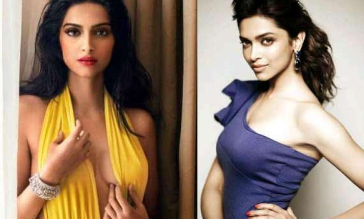 sonam kapoor makes fun of deepika padukone s style see pics