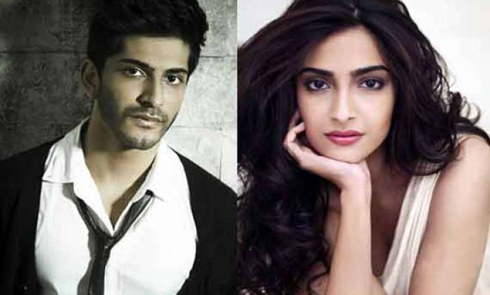 sonam kapoor nervous about brother s bollywood debut