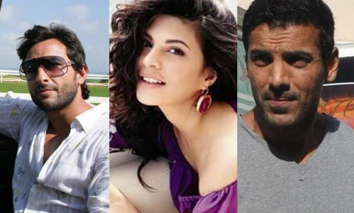 special trainers for saif john jacqueline for race 2