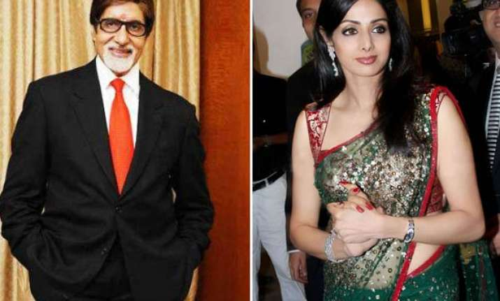 sridevi is spontaneous and lovely says big b