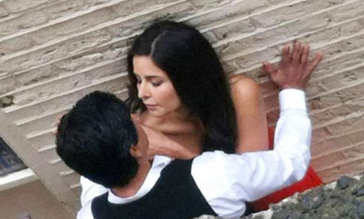 srk and katrina reel life romance in london