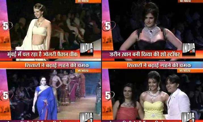 star studded jewellery fashion show in mumbai