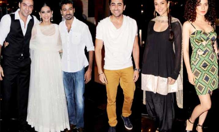 stars attend success bash of raanjhana view pics