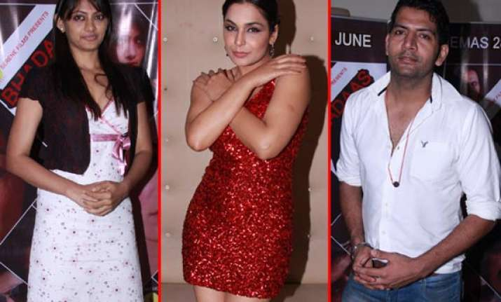 stars spotted at pre release party of bhadaas view pics