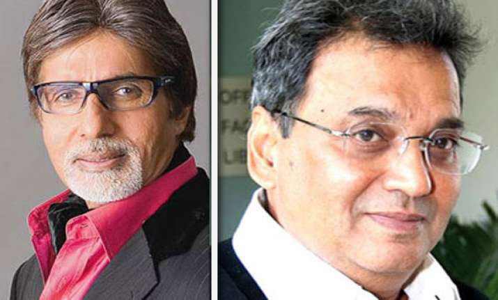 subhash ghai patches up with big b