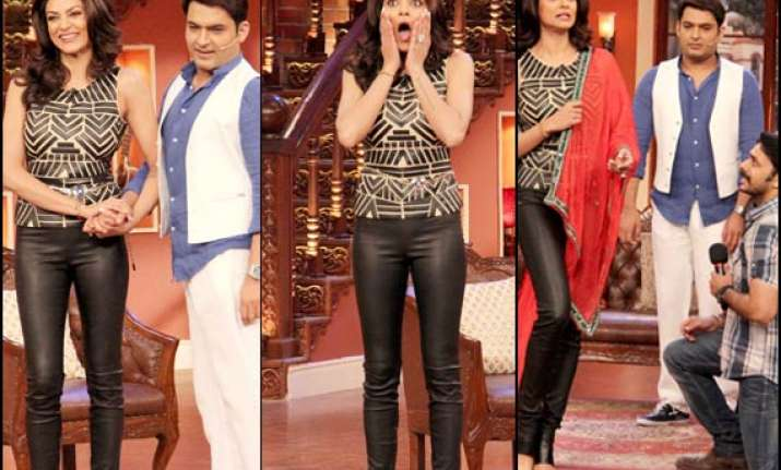 sushmita sen approached comedy nights with kapil to be a
