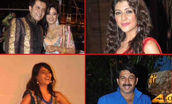 tv stars attend mehendi ceremony of shweta tiwari view pics