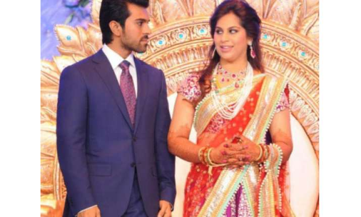 stars from the south flock to teja s wedding