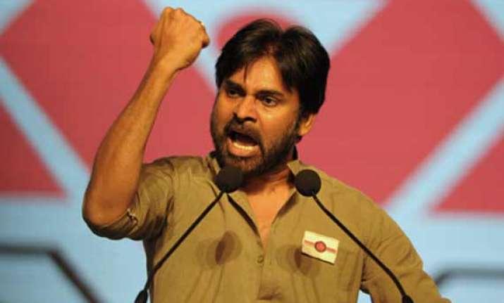 telugu actor pawan kalyan launches new political party