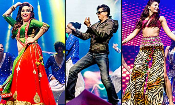 temptation reloaded 2013 shah rukh madhuri rani enthrall