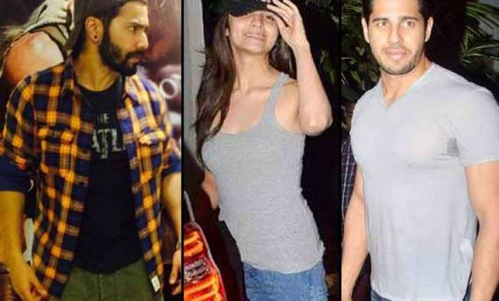 the inseparables alia varun and sidharth spotted together