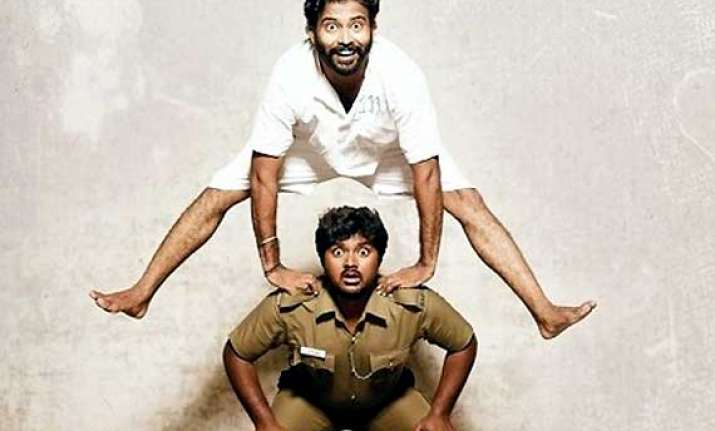 thirudan police song was originally for aaranya kaandam