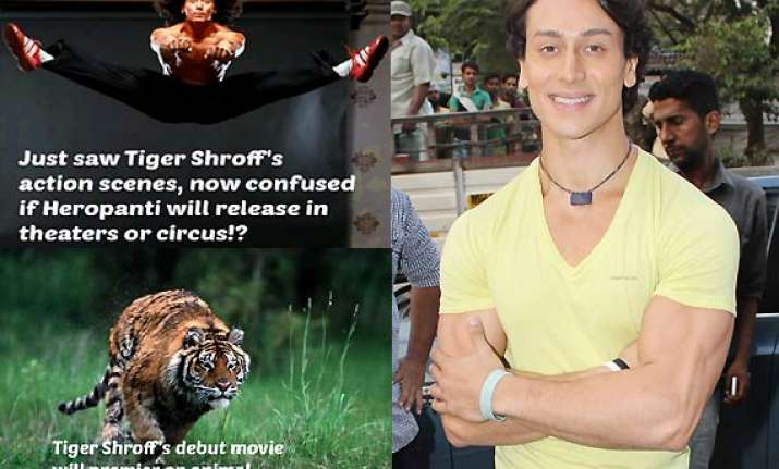 tiger shroff laughs off jokes on himself calls it publicity