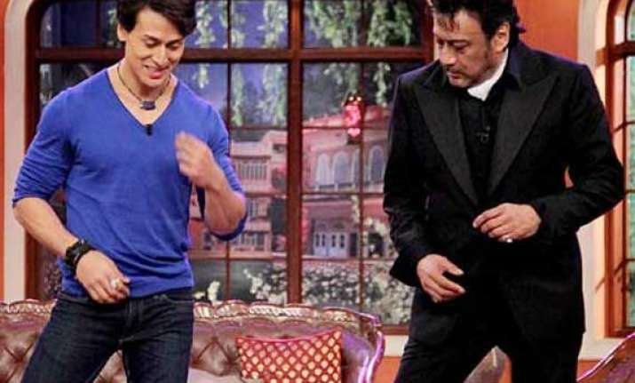 tiger is scared of being compared with father jackie shroff