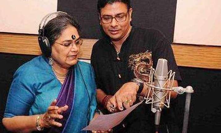 usha uthup lends voice for children s bengali film first