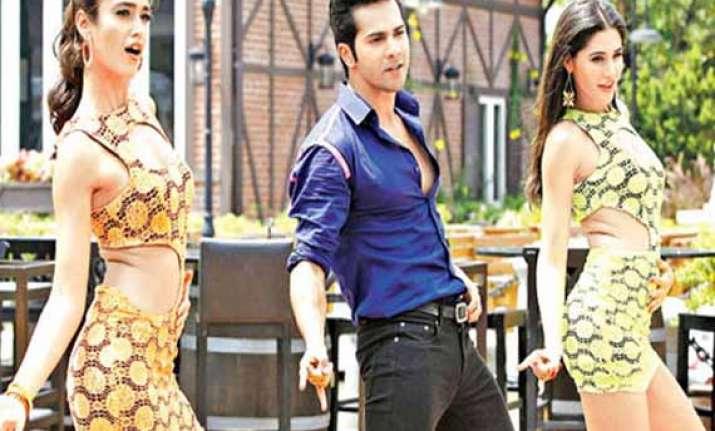 varun dhawan goes micheal jackson way for main tera hero