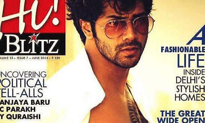 Varun Sheds Cute Image Goes Sexy And Wild As Hi Blitz Cover Boy