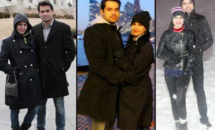 veena malik celebrates valentine s day in us view exclusive