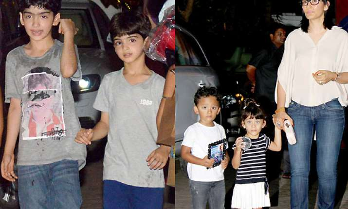 hrehaan hridaan shahran iqra attend viaan s 2nd birthday