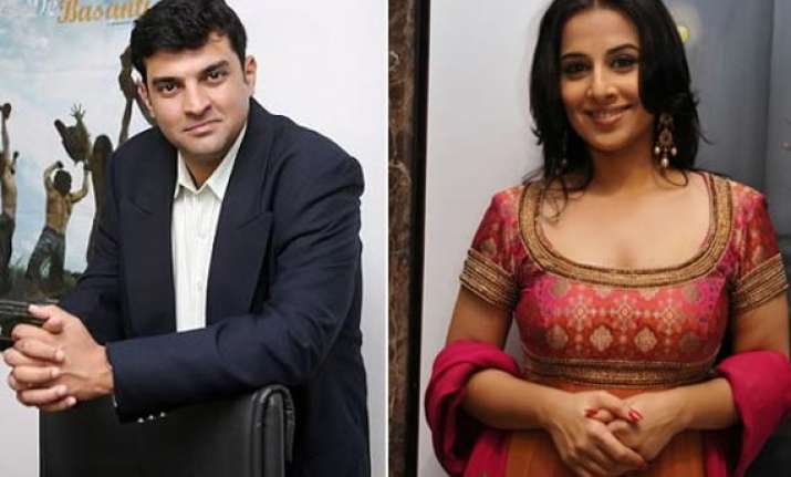 vidya balan s wedding speeds up ghanchakkar schedule