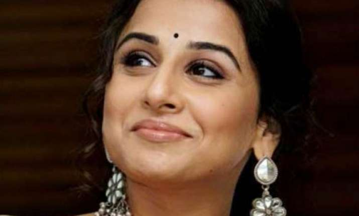 vidya balan the idea of playing female detective was