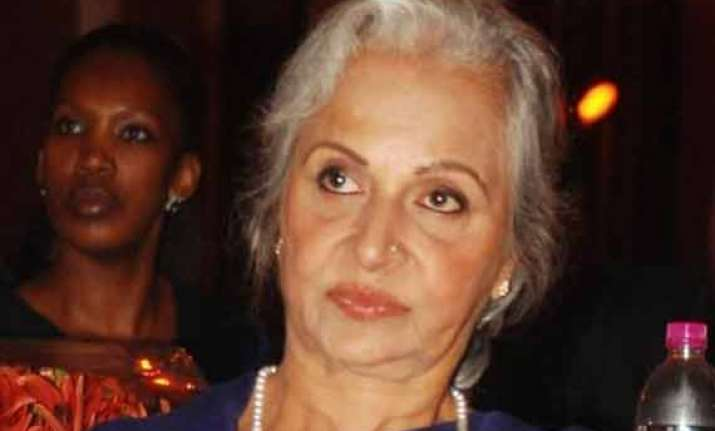 waheeda rehman finds current generation focussed but feels
