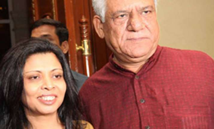om puri says my wife is targeting me but truth will prevail