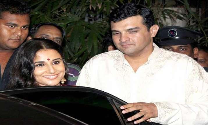wedding bells for vidya balan on dec 14