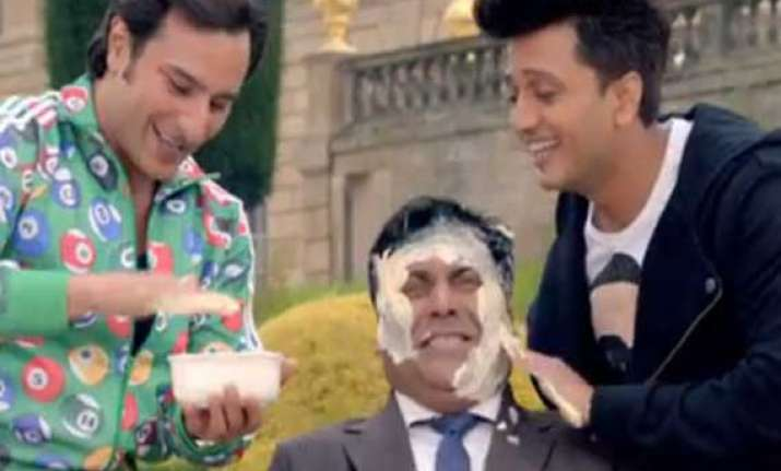 when saif riteish gave ram kapoor butter facial