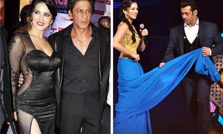will shah rukh and salman fulfill sunny leone s wish to