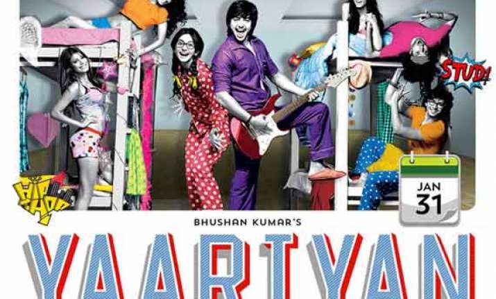 yaariyan box office collection rs 19 cr in three days races