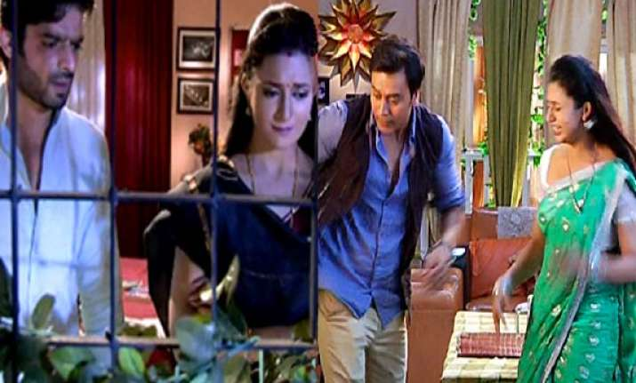 yeh hai mohabbatein raman thrashes param after he tried