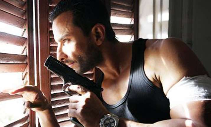 agent vinod is indigenous contemporary says saif