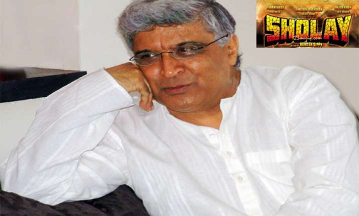 sholay should not be remade says javed akhtar