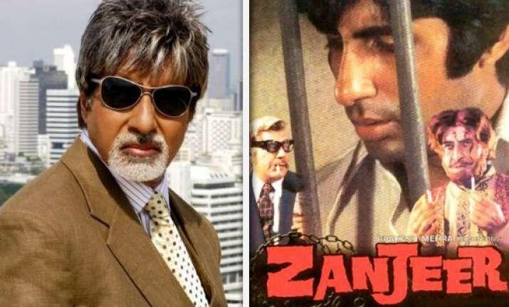 zanjeer remake is a compliment says amitabh bachchan