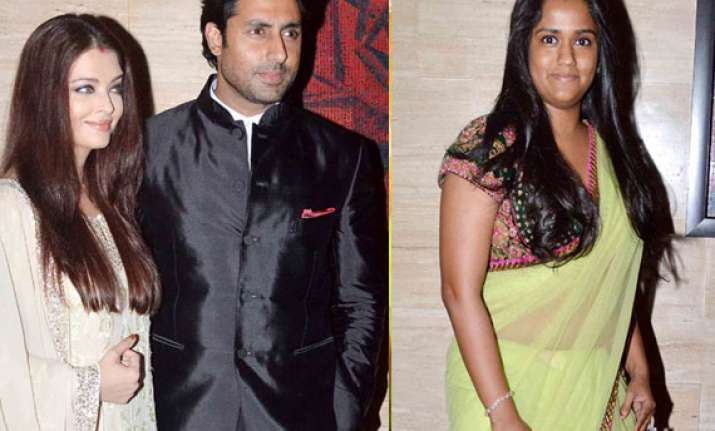 aishwarya and salman khan s sister arpita party together