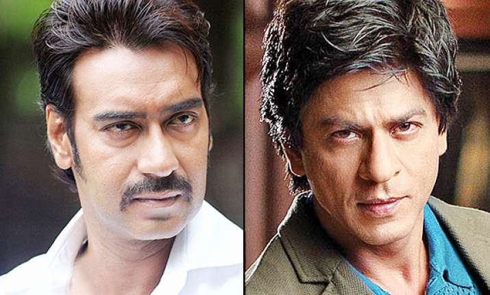 ajay devgn shah rukh khan spat singham actor blames media
