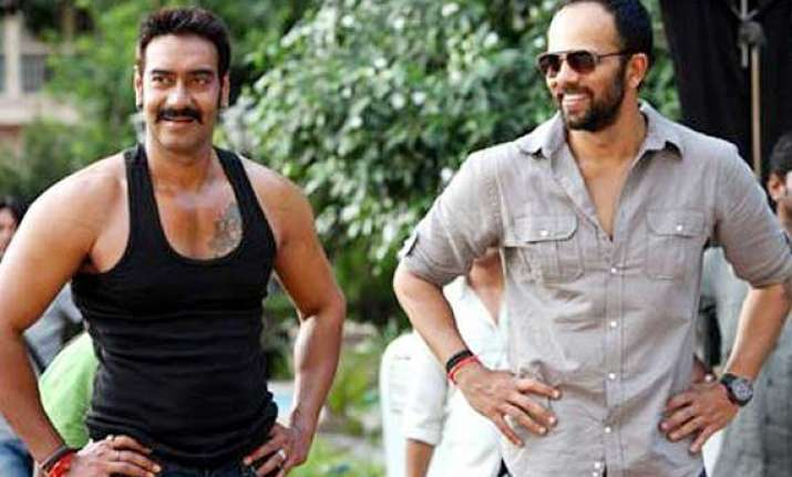 ajay devgn and rohit shetty planned a prank for singham