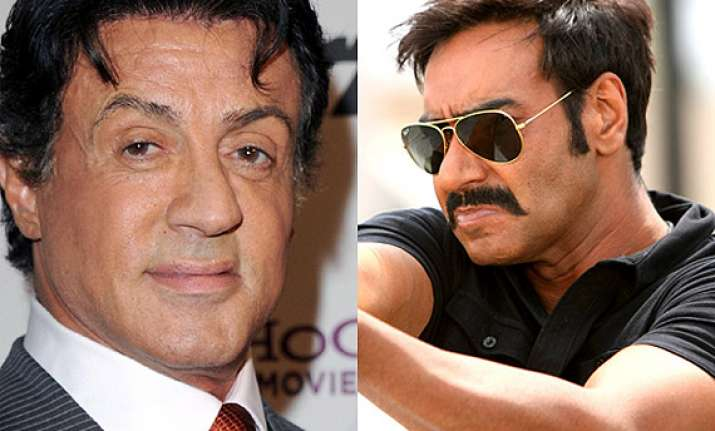 ajay devgn sylvester stallone to clash at box office on