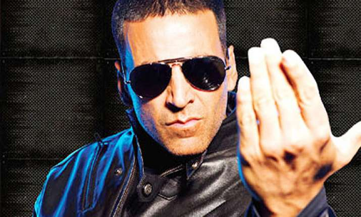why akshay kumar wants to get bashed up on screen