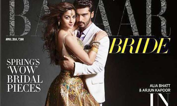 alia arjun s intense chemistry on display the couple covers