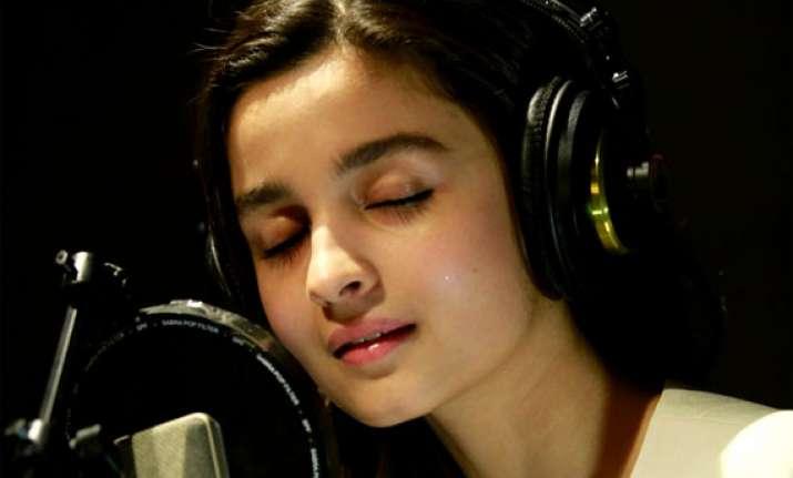 alia bhatt wants to cut her own album
