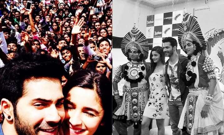 alia bhatt swoons bangalore crowd with main tenu samjhawan