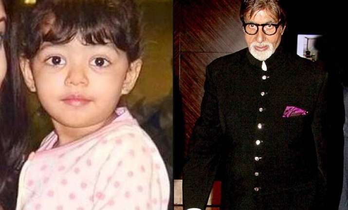 amitabh bachchan gets a gift from aaradhya s fan